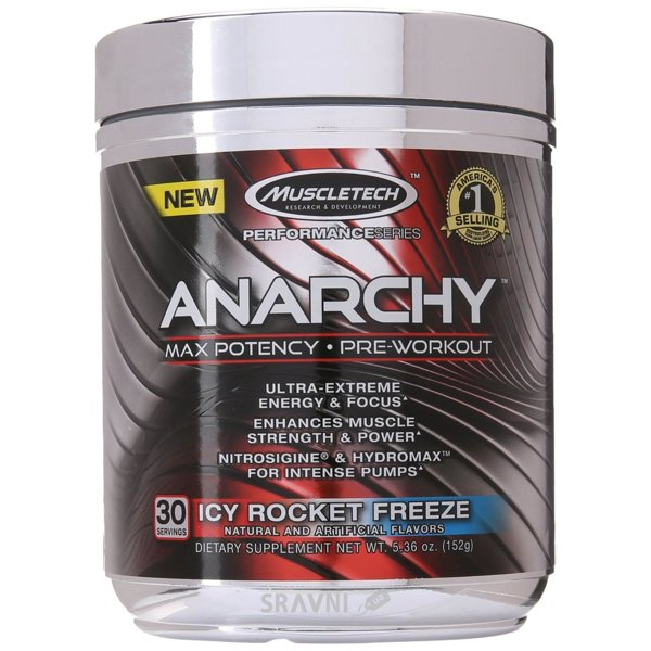 Фото MuscleTech Anarchy 150 g (21 servings)