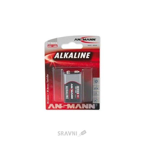 Фото ANSMANN Krona bat Alkaline 1шт Red (1515-0000)