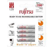 Фото Fujitsu AAA 750mAh NiMh 4шт HR-4UTG
