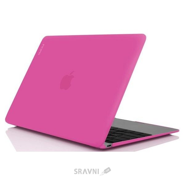 """Фото Incipio Feather for Macbook 12"""" Retina Pink (IM-295-PNK)"""