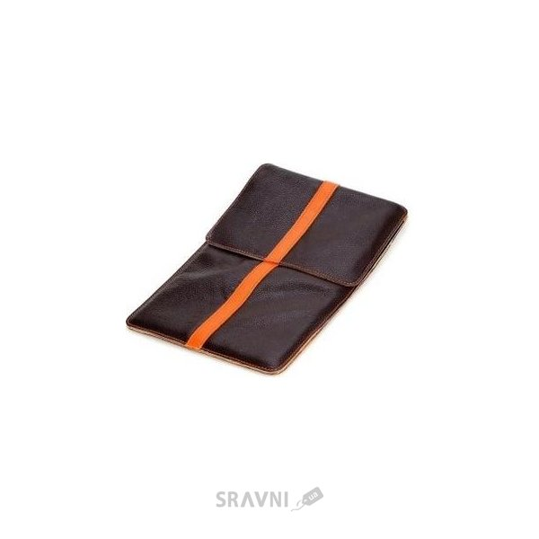 "Фото Luardi Leather pouch MacBook Air 11"" Brown/Orange (LLMBA11FBRN/ORG_)"
