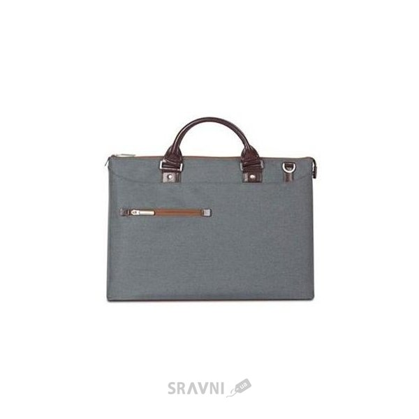 Фото Moshi Urbana Slim Laptop Briefcase Mineral Gray (99MO078031)