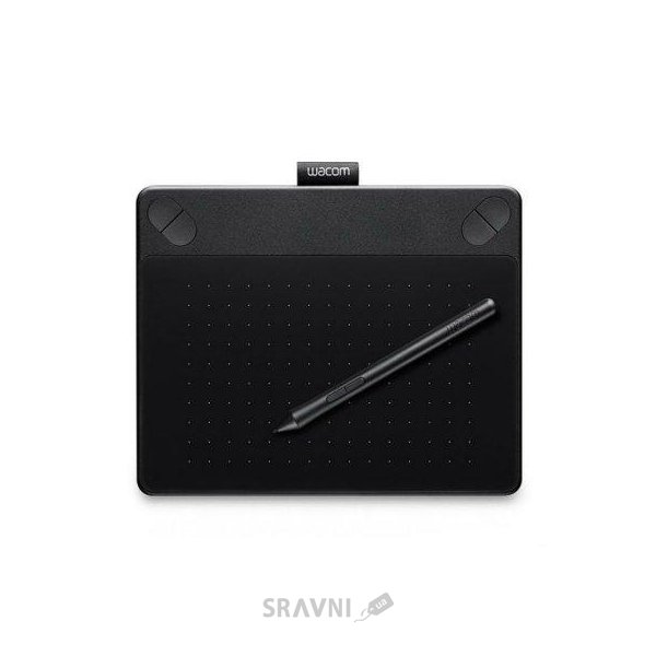 Фото Wacom Intuos Comic PT S North Black (CTH-490CK-N)