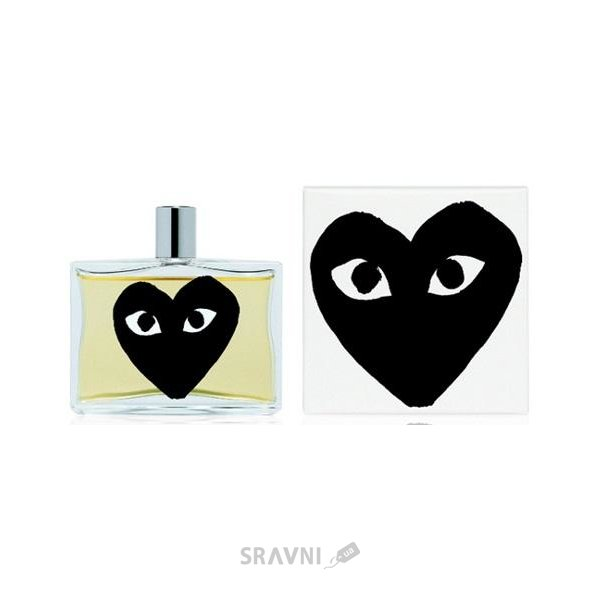 Фото Comme Des Garcons Play Black EDT