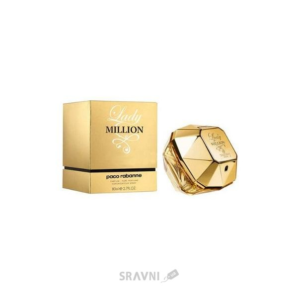 Фото Paco Rabanne Lady Million Absolutely Gold EDP