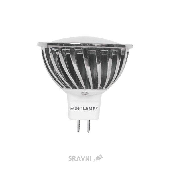 Фото EUROLAMP LED New MR16 GU5.3 7W 3000K 220V (LED-SMD-07533)