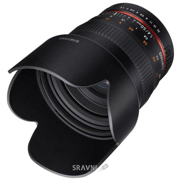 Фото Samyang 50mm f/1.4 AS UMC Fujifilm X