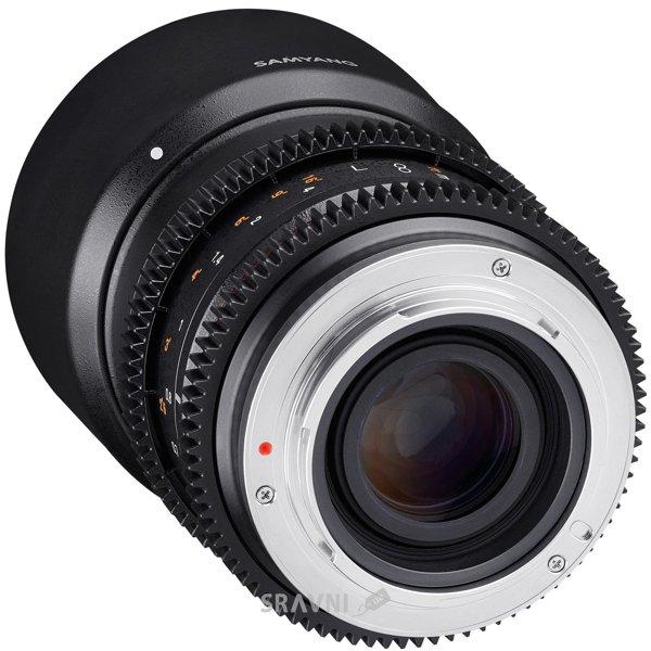 Фото Samyang 50mm T1.3 AS UMC CS Sony E
