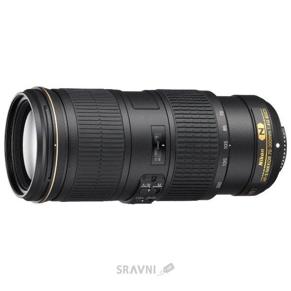 Фото Nikon 70-200mm f/4G ED VR AF-S Nikkor