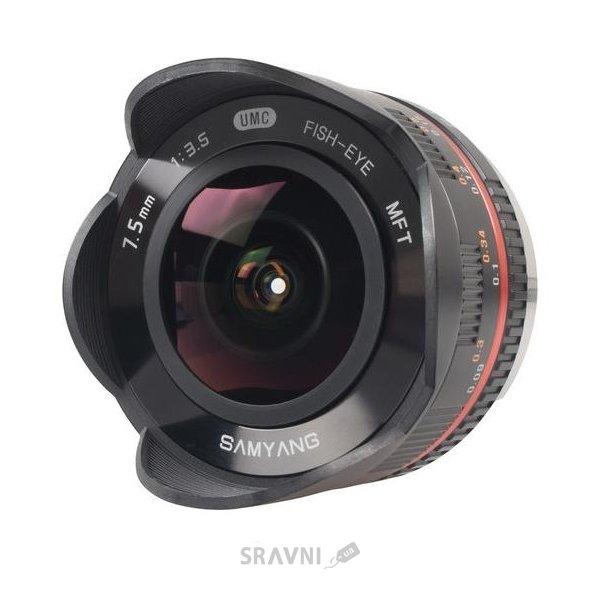 Фото Samyang 7.5mm f/3.5 UMC Fish-eye Micro 4/3