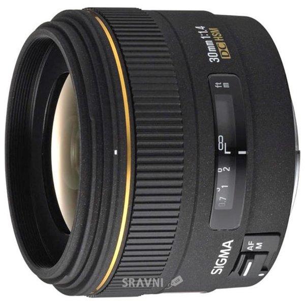 Фото Sigma 30mm f/1.4 EX DC HSM Canon EF-S