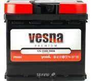 Фото Vesna 6СТ-55 АзЕ Premium Euro (415455)