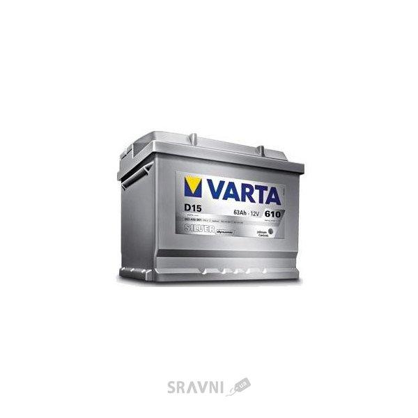 Фото Varta 6СТ-61 SILVER dynamic (D21)