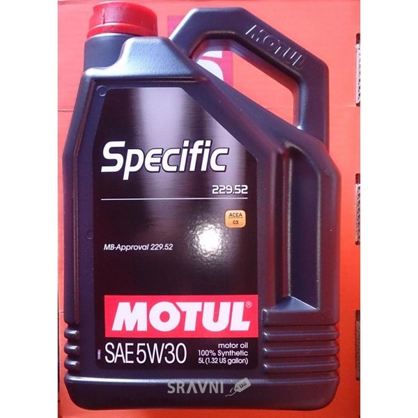 Фото Motul Specific MB 229.52 5W-30 5л
