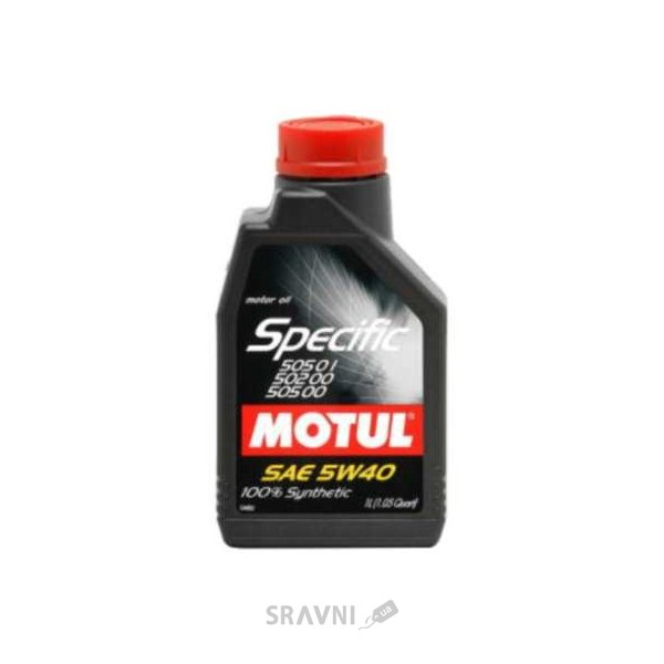 Фото Motul Specific VW 505.01-502.00-505.00 5W-40 1л