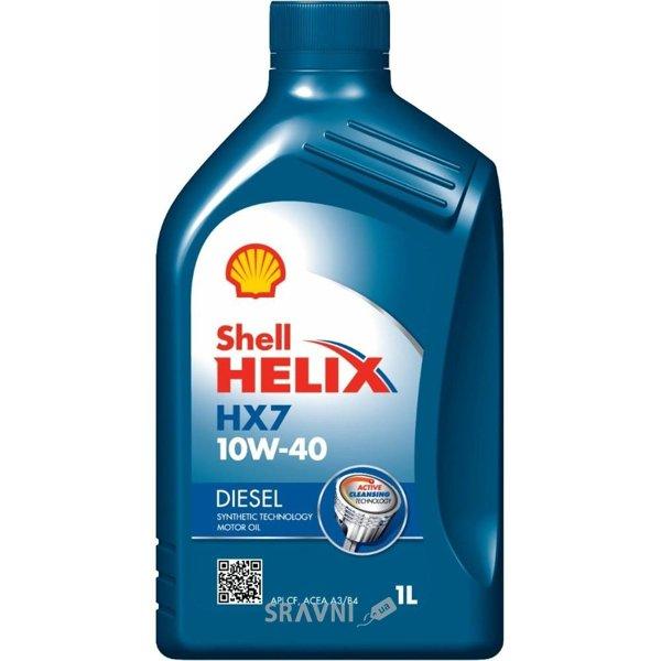 Фото SHELL Helix Diesel HX7 10W-40 1л