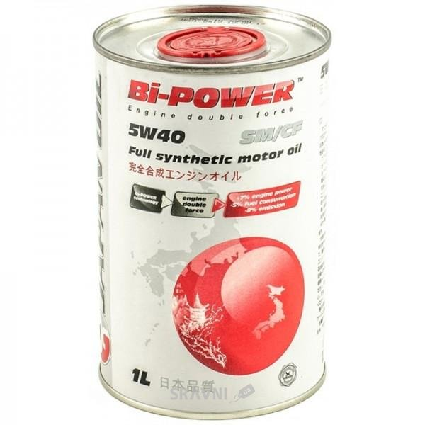 Фото Bi-Power JAPAN OIL 5W-40 1л