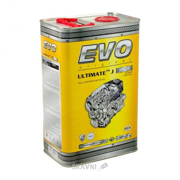 Фото EVO Oil Ultimate J 5W-30 4л