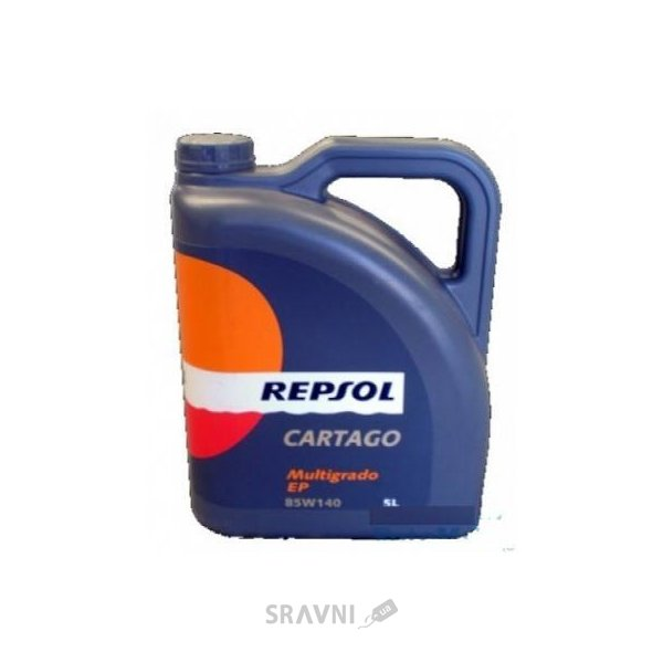 Фото Repsol Cartago EP Multigrado 85W-140 5л