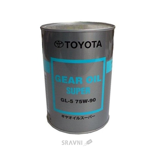 Фото Toyota GEAR OIL SUPER 75W-90 GL-5 1л (08885-02106)