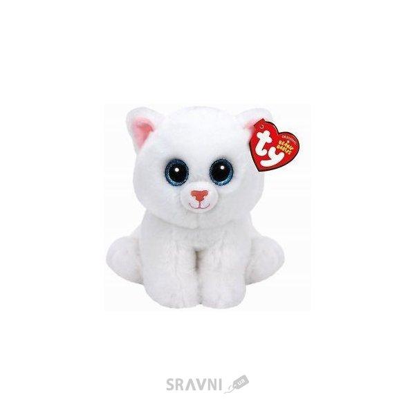 Фото TY Beanie Boo's Белая кошка Pearl 15 см (42130)