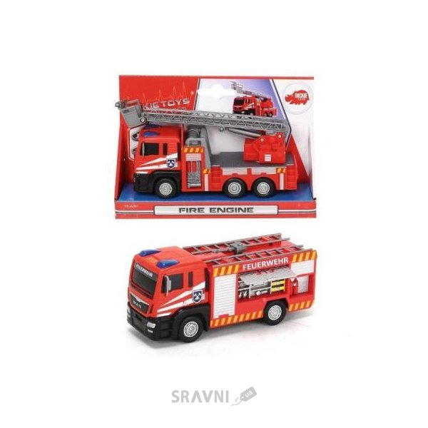 Фото Dickie Toys Пожарная машина MAN (3712008)