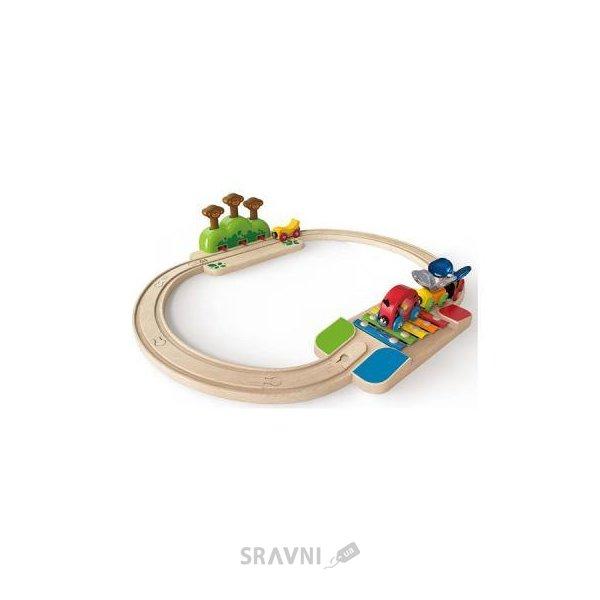 Фото Hape Моя маленькая железная дорога (E3814)