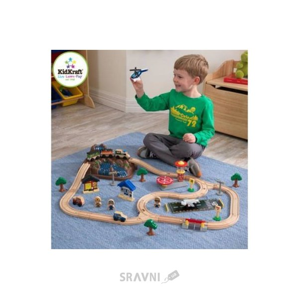 Фото Kidkraft Train set toy (17826)
