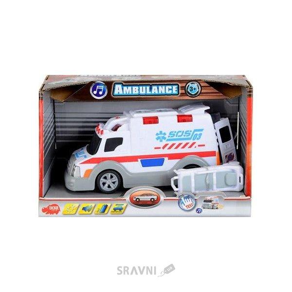 Фото Dickie Toys Функциональный автомобиль Скорая помощь (3313577)