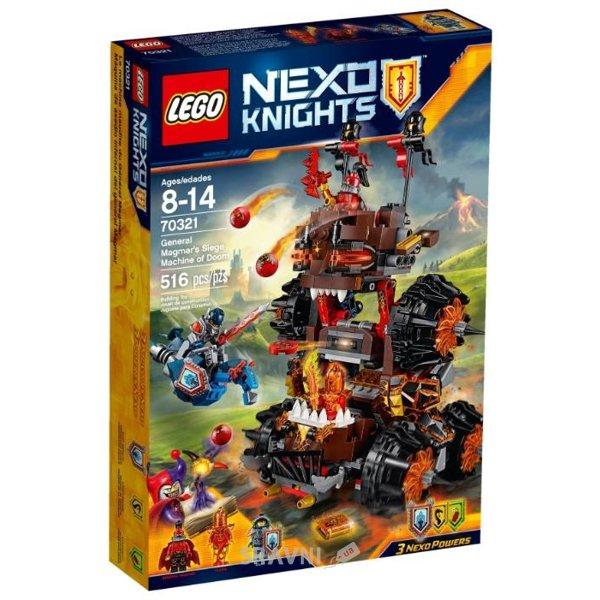 Фото LEGO Nexo Knights 70321 Осадная машина генерала Магмара