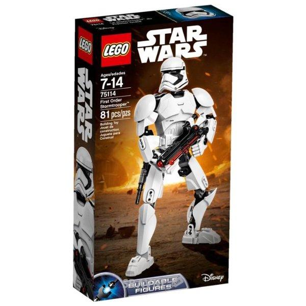 Фото LEGO Star Wars 75114 Штурмовик Первого ордена