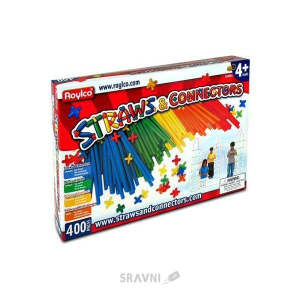Фото Roylco Straws and Connectors R60881 400 деталей