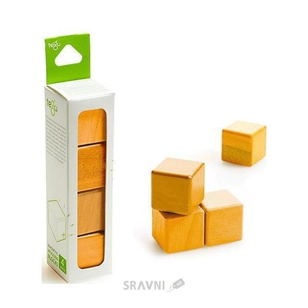Фото Tegu Набор из 4 кубиков (оранжевый) G-12-006
