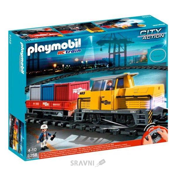 Фото PLAYMOBIL Грузовой поезд (5258)