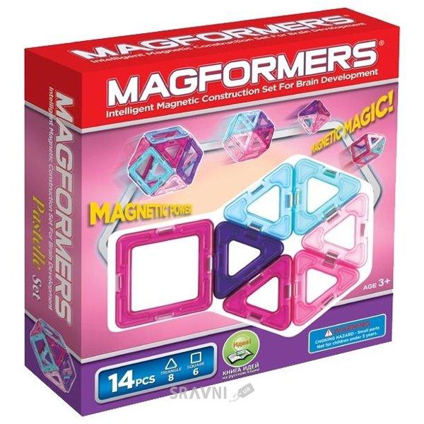 Фото Magformers Pastelle set 63096 14 элементов