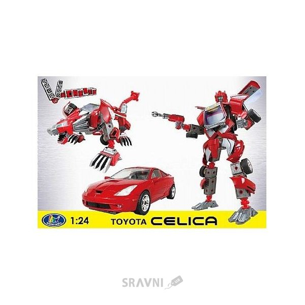 Фото Happy Well 1:24 V-Create Construction Set 3in1 54010 Toyota Celica