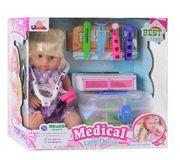 Фото Bambi Кукла с набором доктора в чемодане (1303Q)