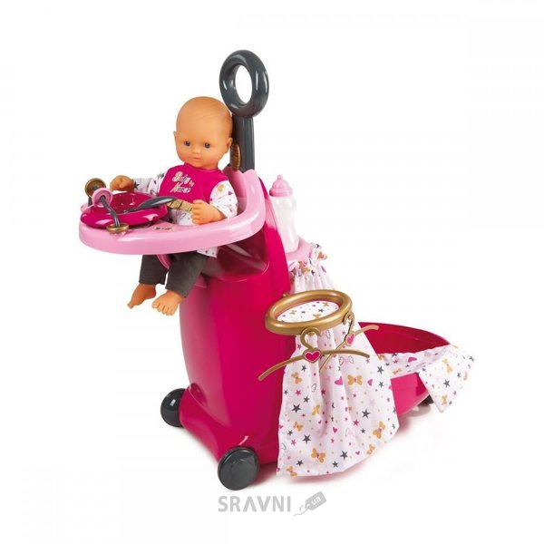 Фото SMOBY Центр-чемоданчик для куклы Baby Nurse (220316)