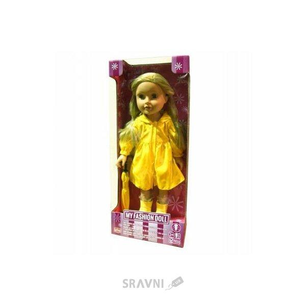 Фото LOTUS ONDA Кукла в желтом плаще с зонтом (1558)