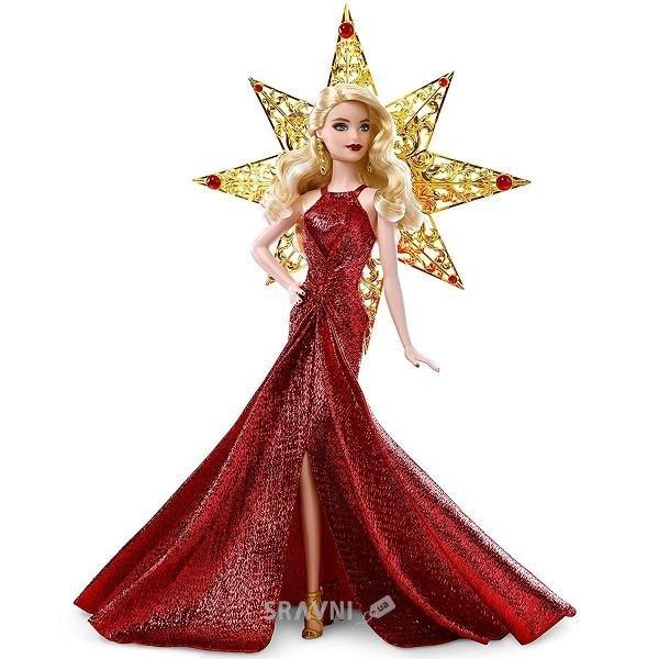 Фото Mattel Barbie Кукла Праздничная со светлыми волосами (DYX39)