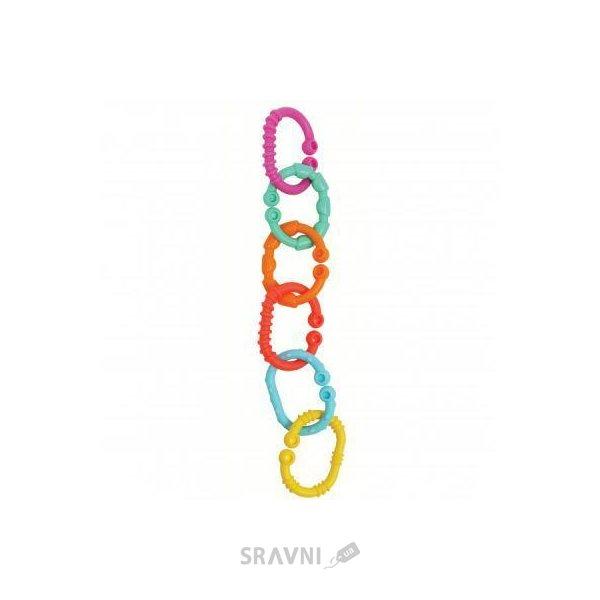 Фото PLAYGRO Разноцветные кольца-прорезыватели (0184556)