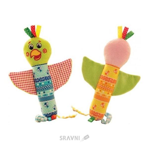 Фото Vladi Toys Погремушка Зоо Попугай Шалун (MK3101-02)