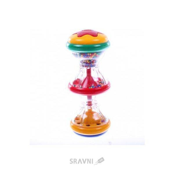 Фото Tolo Toys Погремушка с разноцветными шариками (86440)