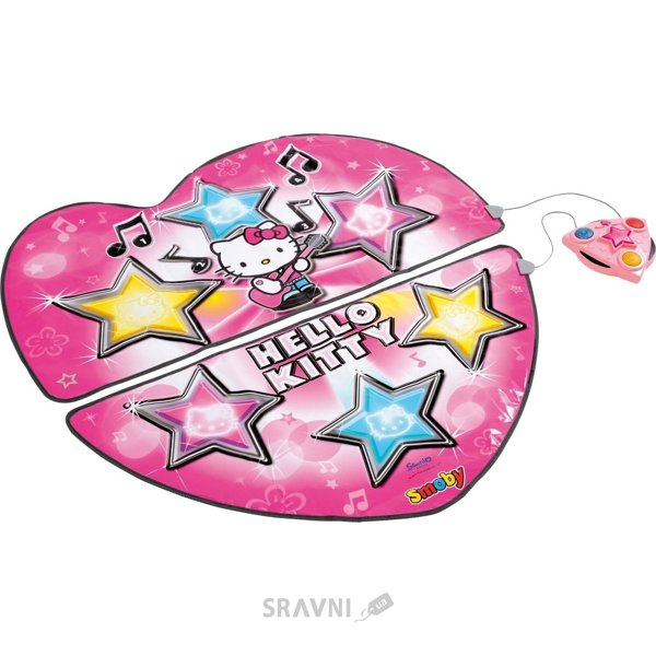 Фото SMOBY Танцевальный коврик Hello Kitty (27272)