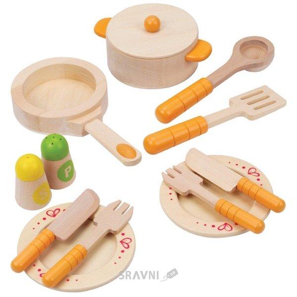 Фото Hape Набор посуды для кухни (E3103)