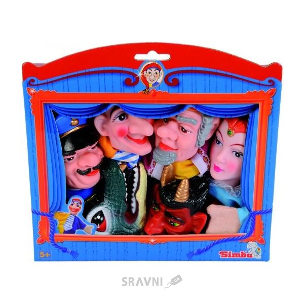 Фото Simba Герои Кукольного театра 6 шт (4586784)