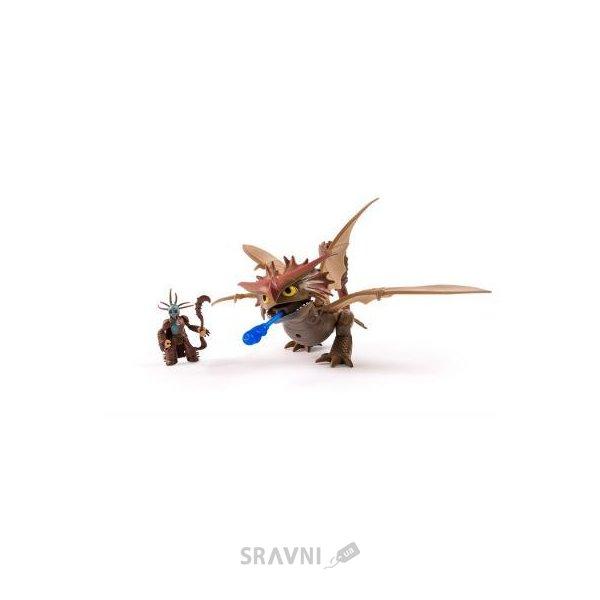 Фото Spin Master Набор де-люкс Dragons: Грозокрыл и Валка в боевой маске (SM66601-2)