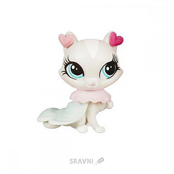 Фото Hasbro 4 зверюшки с аксессуарами Littlest Pet Shop (A8218)
