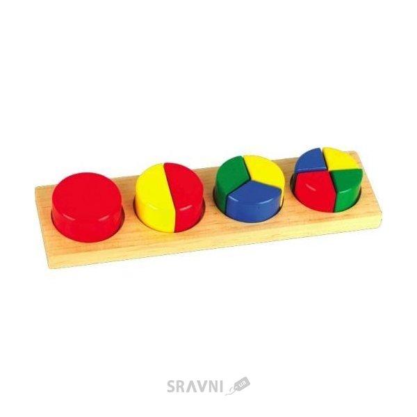 Фото Мир деревянных игрушек Дроби малые №1 (Д144)