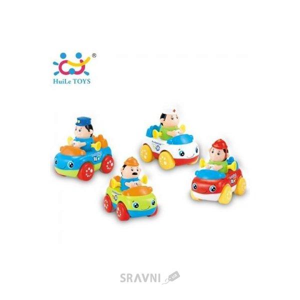 Фото Huile Toys Рабочая Машинка (комплект из 4 шт) (356C)
